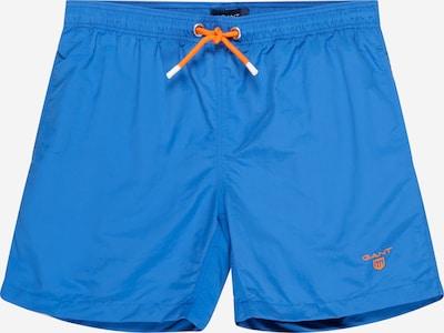 GANT Zwemshorts in de kleur Royal blue/koningsblauw / Sinaasappel, Productweergave