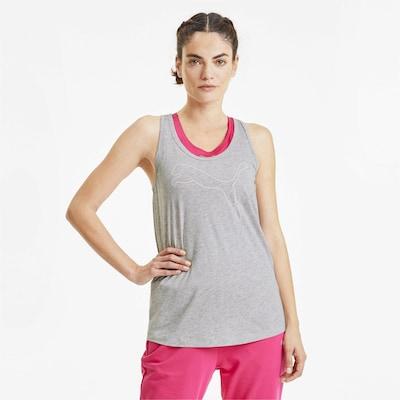 PUMA Functioneel shirt in de kleur Grijs: Vooraanzicht