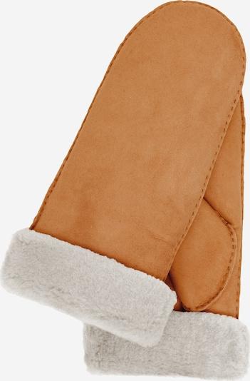 KESSLER Handschuh Grit in braun / gelb, Produktansicht