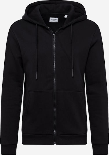 Only & Sons Sweatjacke 'Ceres' in schwarz, Produktansicht