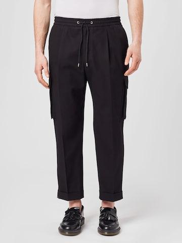 Pantalon cargo The Kooples en noir
