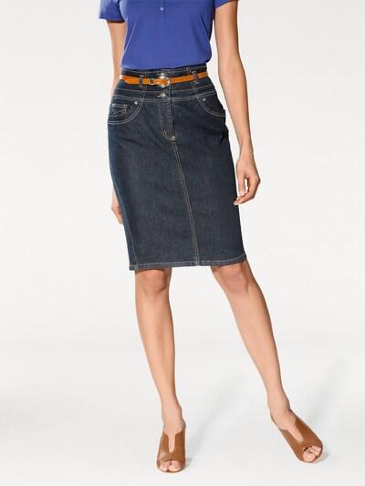 heine Skirt in Dark blue: Frontal view