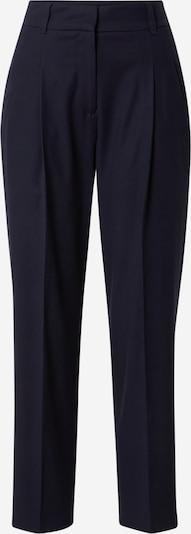 s.Oliver BLACK LABEL Pantalon à plis en bleu marine, Vue avec produit