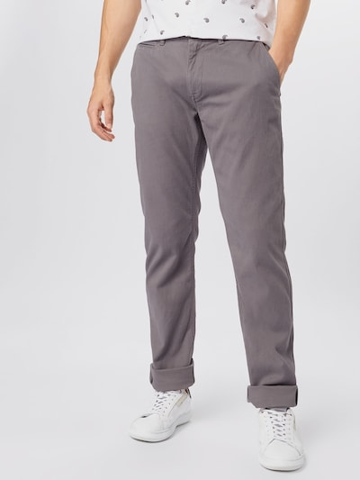 TOM TAILOR Pantalón chino en gris, Vista del modelo