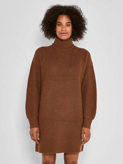 Noisy may Knitted dress 'Timmy' in Caramel, View model