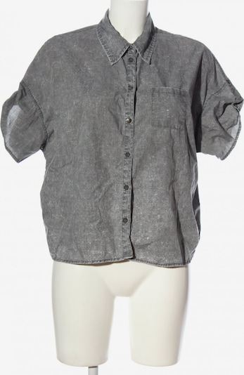 Crazy World Hemd-Bluse in L in hellgrau, Produktansicht