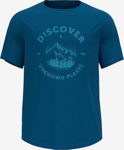 ODLO Rundhals T-Shirt in blau, Produktansicht