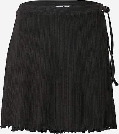 Fashion Union Jupe 'POLINO' en noir, Vue avec produit
