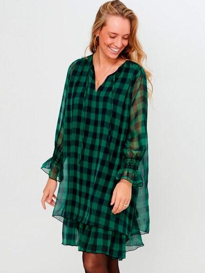 Noella Blusenkleid 'Cassy' in grün / schwarz, Modelansicht
