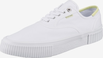 TOMMY HILFIGER Sneaker in neongrün / weiß, Produktansicht