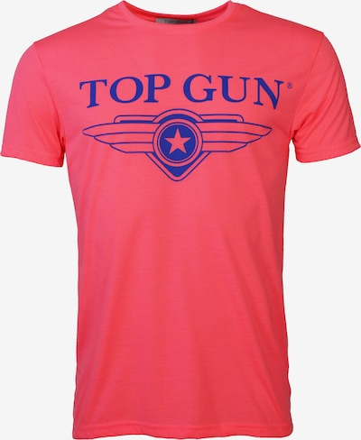 TOP GUN T-Shirt ' Radiate ' in pink: Frontalansicht