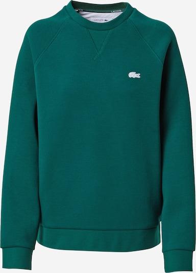 LACOSTE Sweatshirt in de kleur Smaragd / Wit, Productweergave