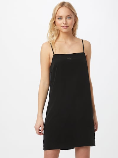 Rochie Calvin Klein Jeans pe gri bazalt / negru, Vizualizare model