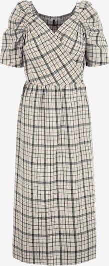 Y.A.S Kleid in creme / grau, Produktansicht