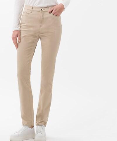 BRAX Jeans 'Mary' in de kleur Beige, Modelweergave
