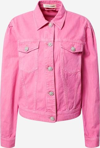 Veste mi-saison 'Yoel' Custommade en rose