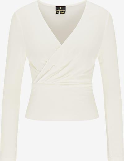 DreiMaster Klassik Shirt in de kleur Wit, Productweergave
