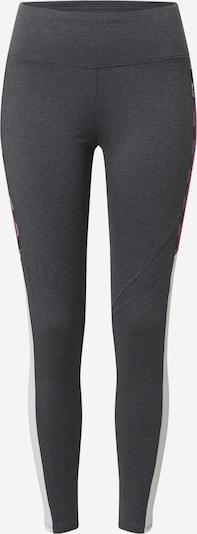 ESPRIT SPORT Sporta bikses tumši pelēks / ciklamenu / melns / balts, Preces skats