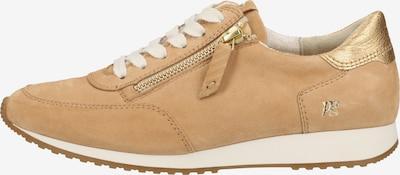 Paul Green Sneaker in hellbraun / gold, Produktansicht