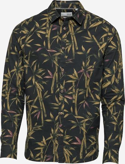 !Solid Koszula 'Ralf' w kolorze żółty / fioletowy / czarnym, Podgląd produktu