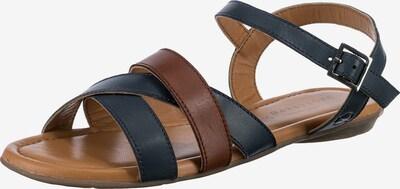 Paul Vesterbro Sandale in dunkelblau / ocker, Produktansicht
