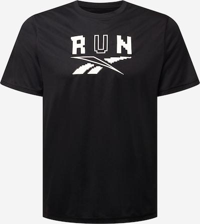 Reebok Sport Funkčné tričko - čierna / biela, Produkt