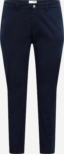 Selected Femme Curve Pantalon 'ILEY' en bleu marine, Vue avec produit