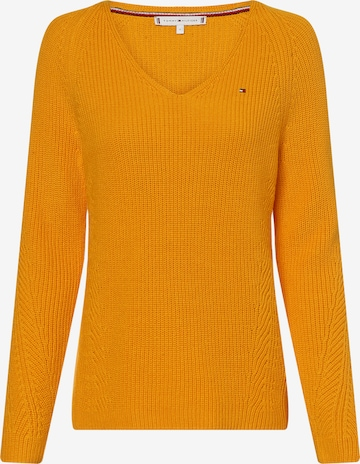 TOMMY HILFIGER Sweater 'Hayana' in Yellow