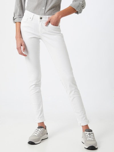 Pepe Jeans Hose 'Soho' in weiß, Modelansicht