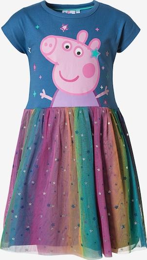 Peppa Pig Kleid in himmelblau / gelb / hellgrün / orange / rosa, Produktansicht