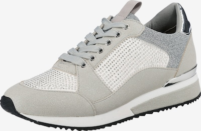 LA STRADA Sneaker in grau / silber / weiß, Produktansicht