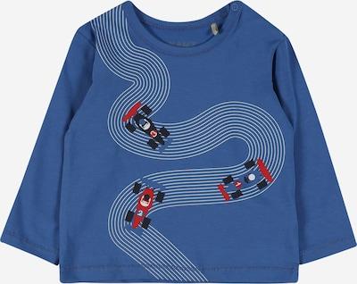 KANZ Shirt in de kleur Royal blue/koningsblauw / Rood / Zwart / Wit, Productweergave