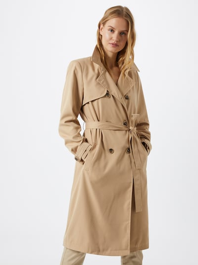 VILA Trenchcoat 'MOVEMENT' in beige, Modelansicht
