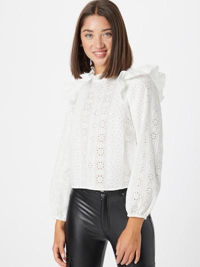 NAF NAF Bluse 'ROUROU' in weiß, Modelansicht