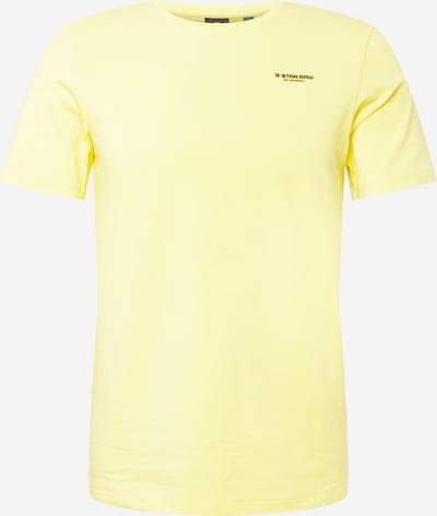 G-Star RAW T-Shirt in hellgelb, Produktansicht