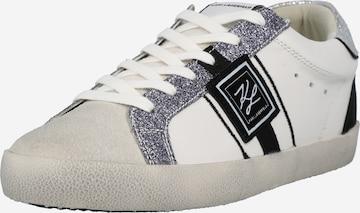 balts Karl Lagerfeld Zemie brīvā laika apavi