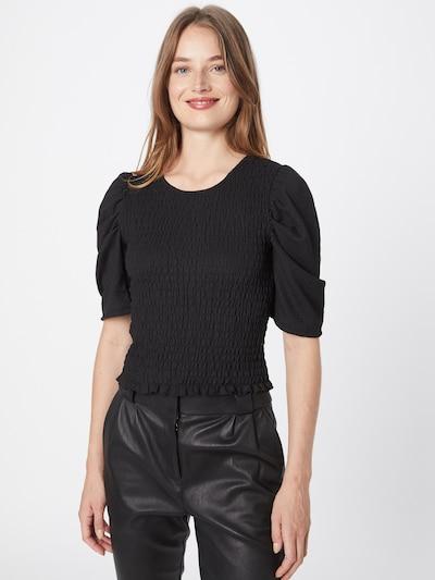 JDY Bluse in schwarz, Modelansicht