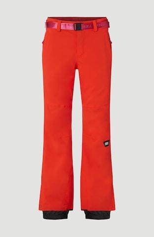 O'NEILL Vabaajapüksid 'Star Slim', värv punane