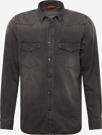 HUGO Košeľa 'Elpaz' - čierny denim, Produkt