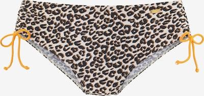 BUFFALO Bikinihose in beige / pueblo / schwarz, Produktansicht