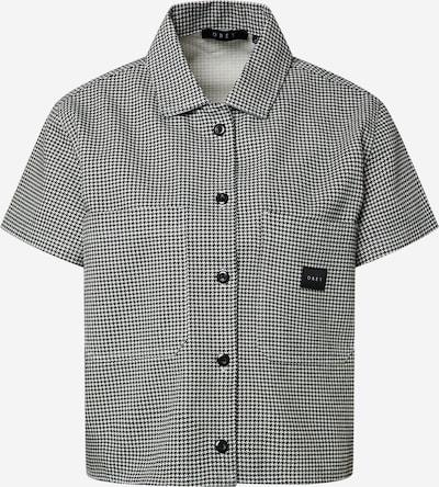 Obey Bluse in schwarz / weiß, Produktansicht