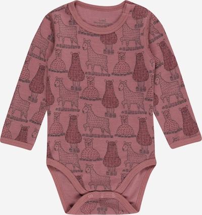 Hust & Claire Rompertje/body 'Baloo' in de kleur Framboos / Rosé / Zwart, Productweergave