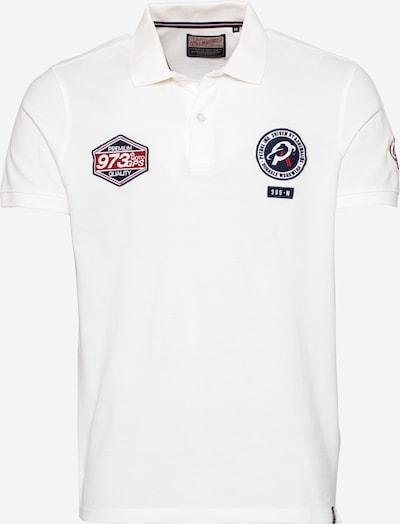 Petrol Industries Poloshirt in weiß, Produktansicht