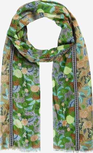 CODELLO Schal in beige / hellgrün / mischfarben, Produktansicht