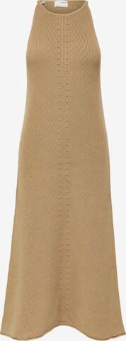 brūns SELECTED FEMME Adīta kleita 'Maxa'