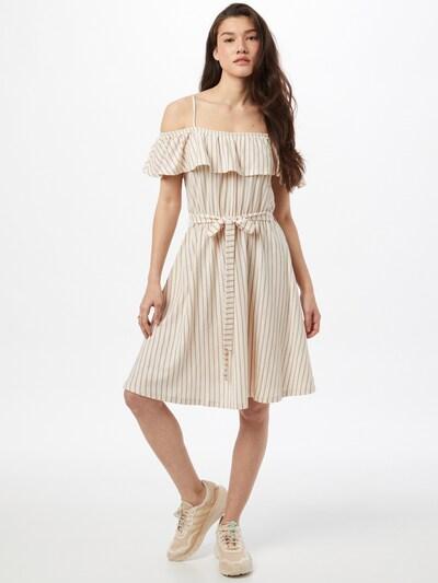ABOUT YOU Kleid 'Pamela' in braun / weiß, Modelansicht