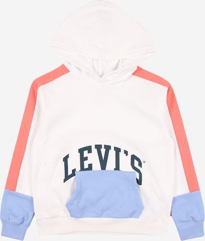 Bluză de molton LEVI'S pe navy / albastru deschis / roșu pastel / alb, Vizualizare produs