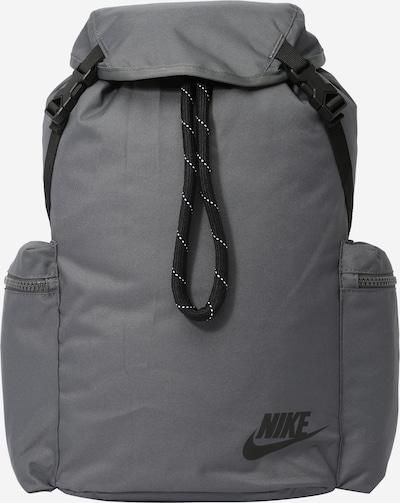 Nike Sportswear Backpack in Grey / Black, Item view