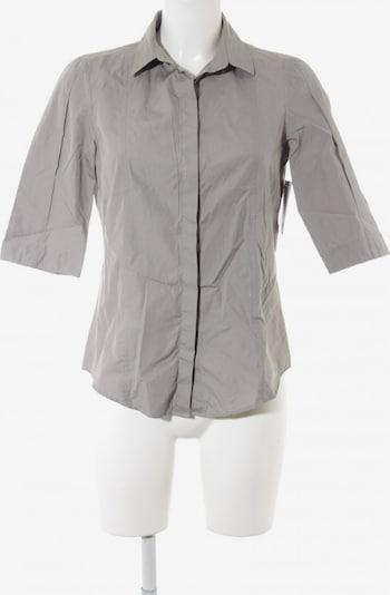 AKRIS punto Kurzarm-Bluse in S in hellgrau, Produktansicht