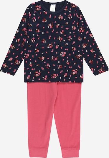 STACCATO Pajamas in Navy / Dark orange / Pink / White, Item view